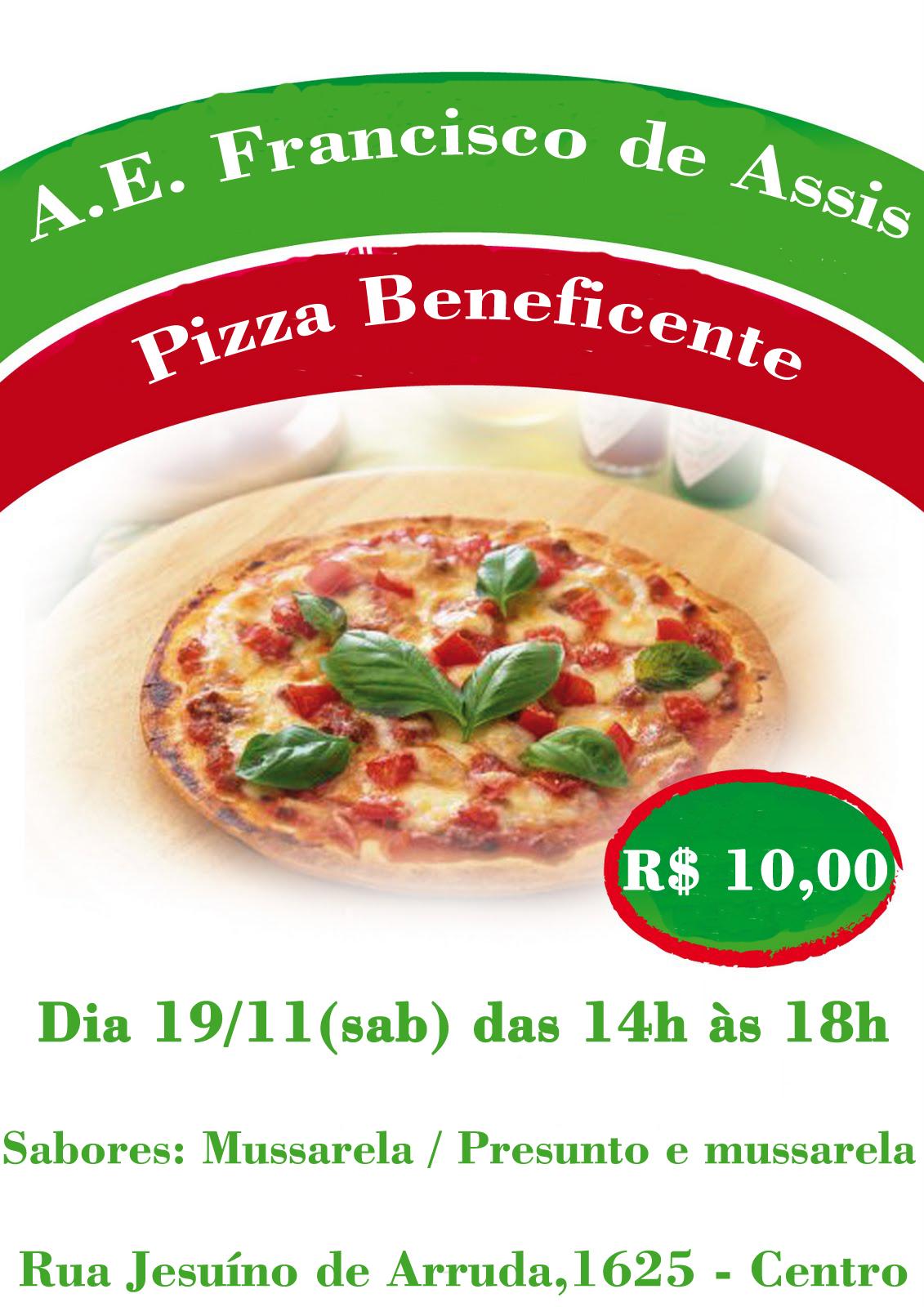 pizza francisco de assis