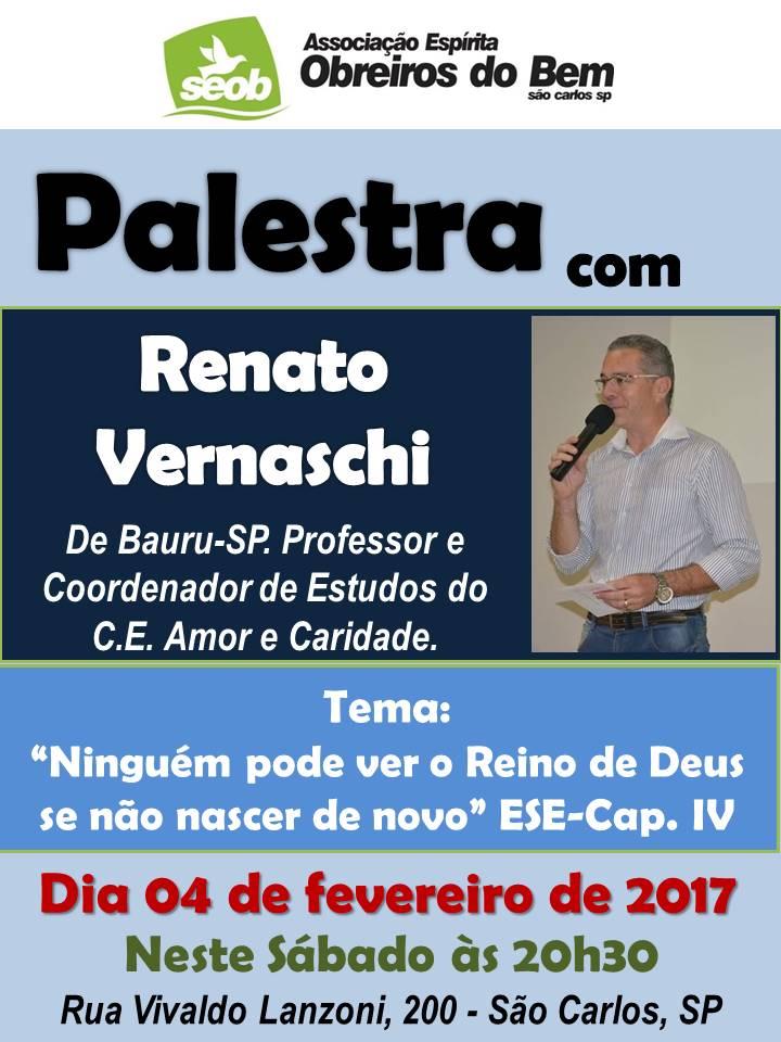 4 Fevereiro 2017 - Renato Vernaschi
