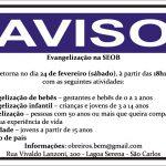 aviso seob volta atividades 240218