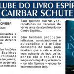 Clube do Livro - Junho 2019